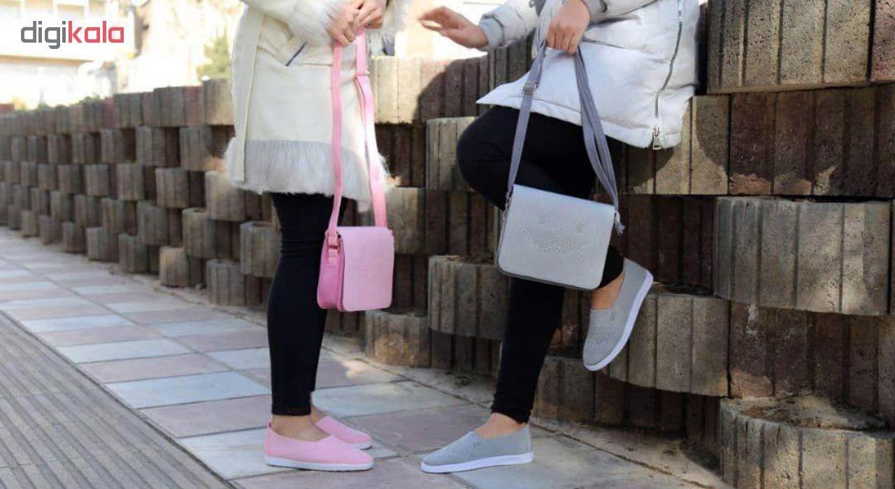 ست کیف و کفش زنانه کد BFT01-G main 1 7