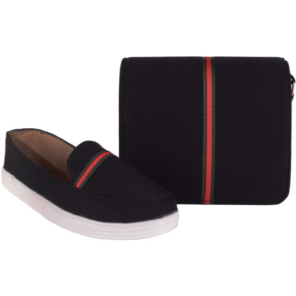 ست کیف و کفش زنانه کد BL-ST01