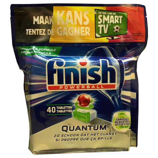 قرص ماشین ظرفشویی فینیش مدل Quantum graisses  بسته 40 عددی