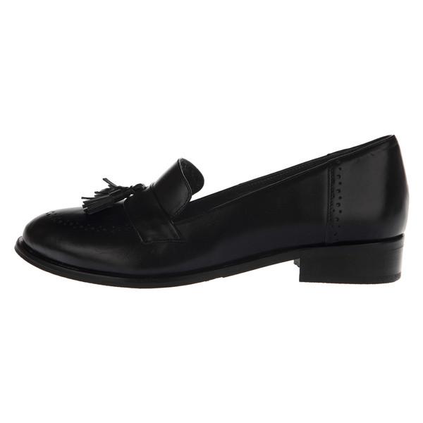 کفش روزمره زنانه چرم یاس مدل تاینی کد 001