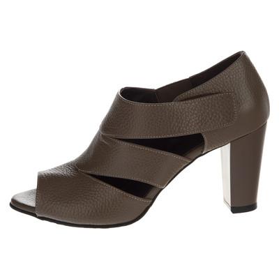 تصویر کفش زنانه چرم یاس کد 03