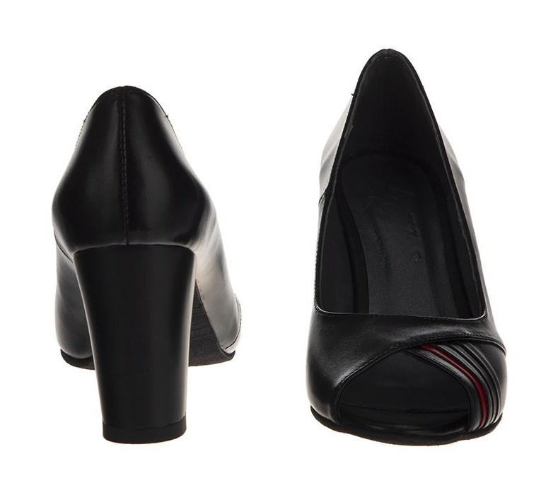 کفش زنانه چرم یاس مدل لوسیلا