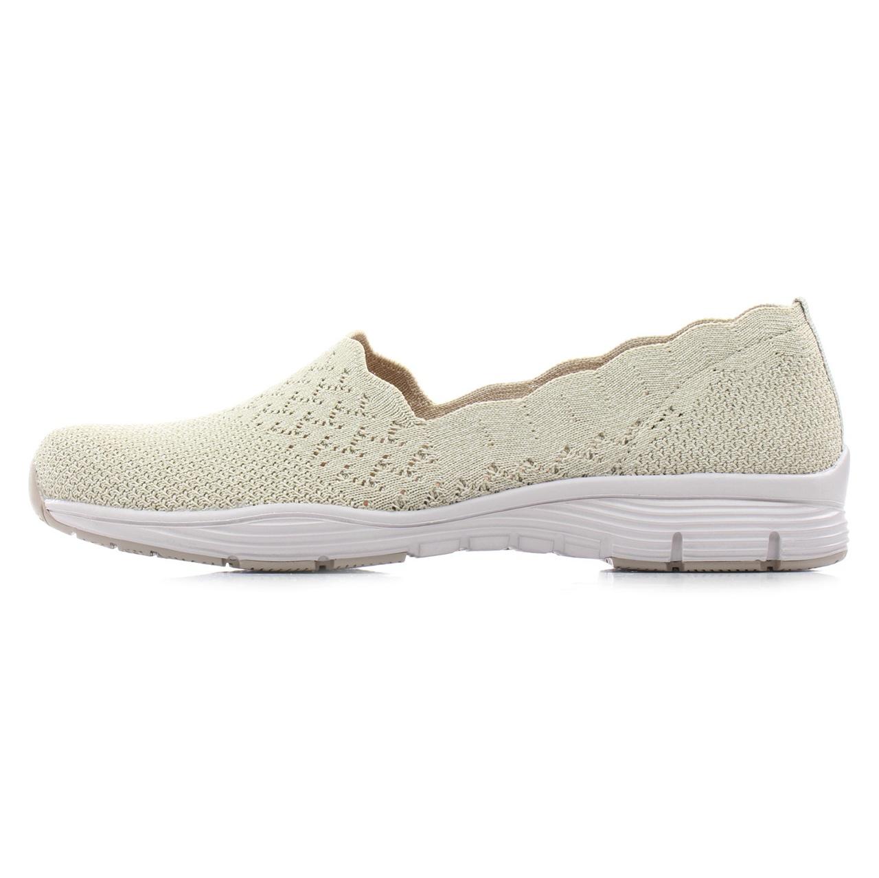 کفش مخصوص پیاده روی زنانه اسکچرز مدل MIRACLE 49481NAT