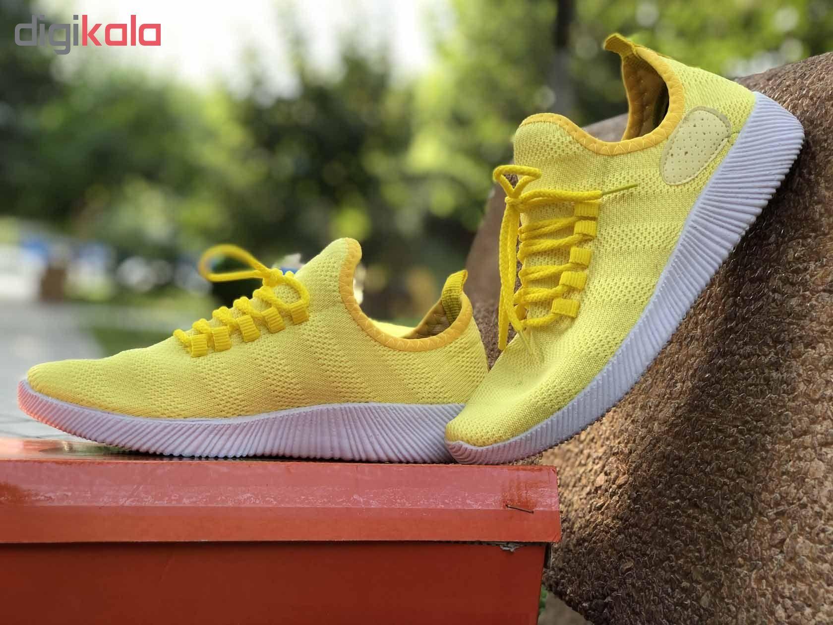 کفش مخصوص پیاده روی زنانه کد 9813 main 1 4