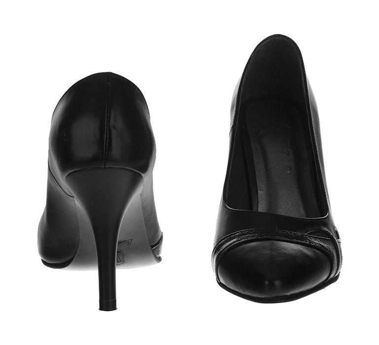 کفش زنانه چرم یاس مدل تیسا
