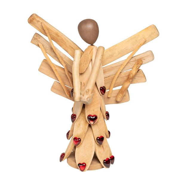 مجسمه چوبی مدل فرشته  کد M86