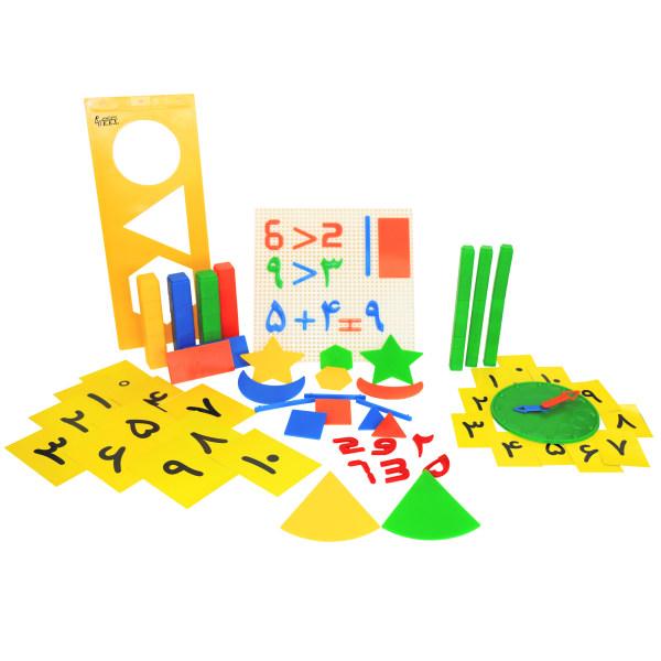 بازی آموزشی صنایع آموزشی مدل دست ورزی ریاضی ابتدایی کد 384