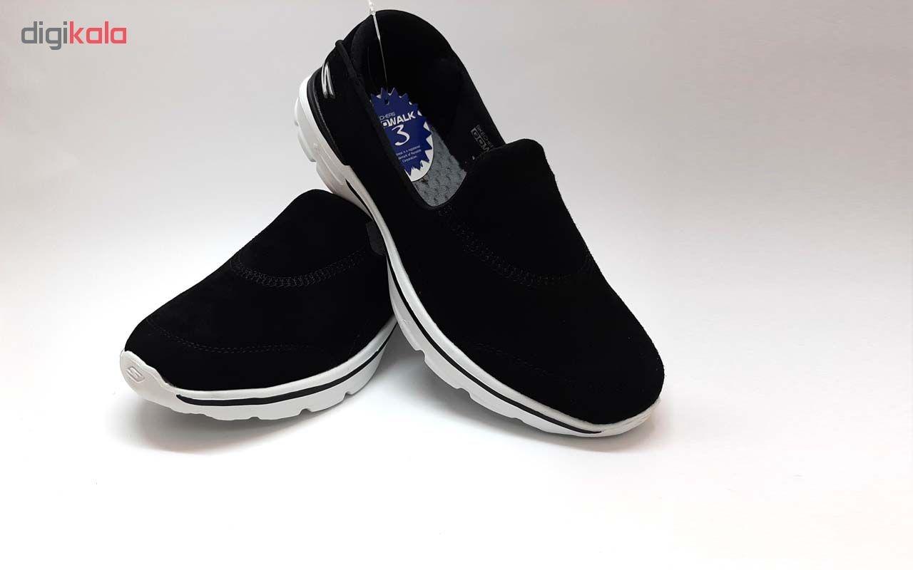 کفش مخصوص پیاده روی زنانه اسکچرز مدل go walk 3 کد 6254