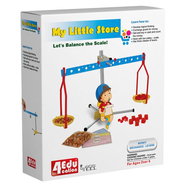 بازی آموزشی صنایع آموزشی مدل فروشگاه کوچک من کد 4edu-6