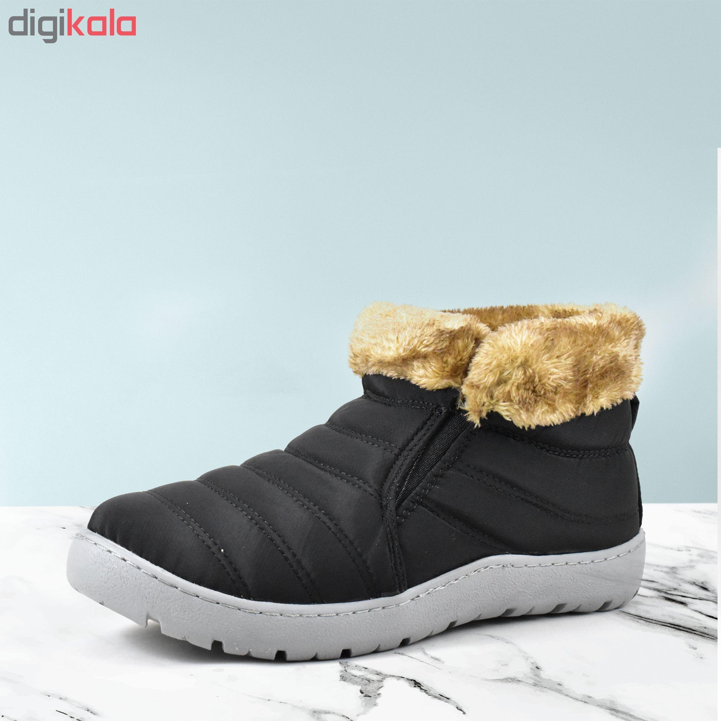 کفش مخصوص پیاده روی زنانه چرم تام کد 4741              خرید