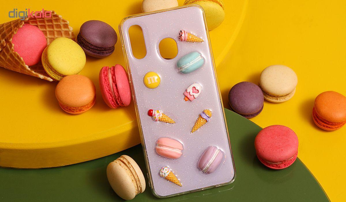 کاور مدل FANZY-1 طرح شیرینی مناسب برای گوشی موبایل سامسونگ Galaxy A10s