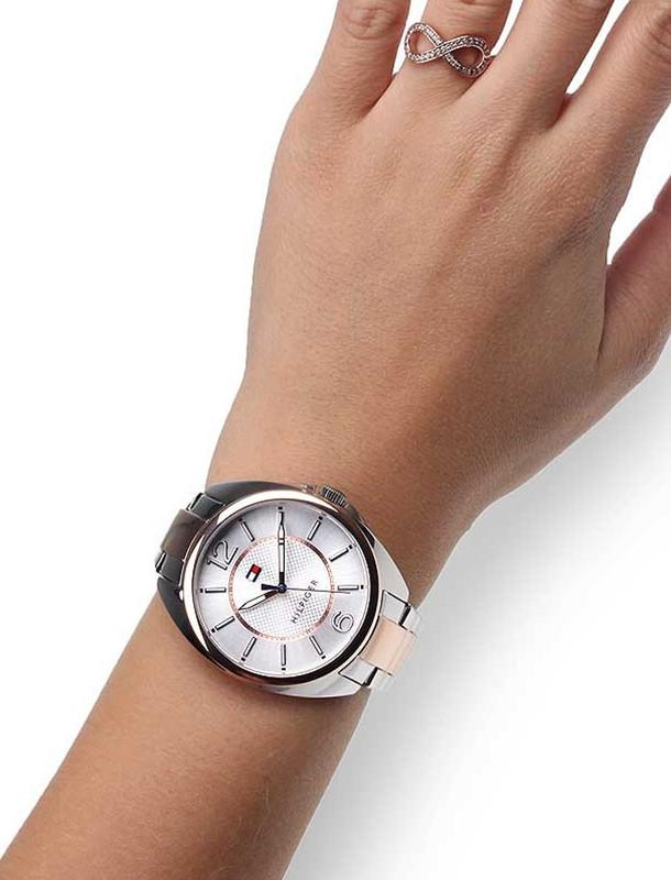 ساعت مچی عقربه ای زنانه تامی هیلفیگر مدل 1781696