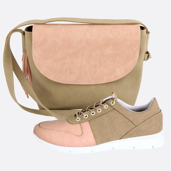 ست کیف و کفش زنانه کد 027