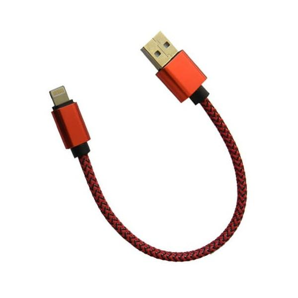 کابل تبدیل USB به لایتنینگ مدل Nylon-02 طول 0.2 متر
