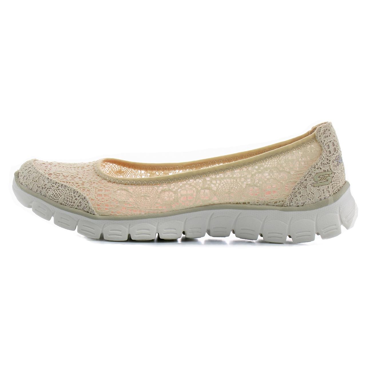 کفش مخصوص پیاده روی زنانه اسکچرز مدل MIRACLE 23437NAT