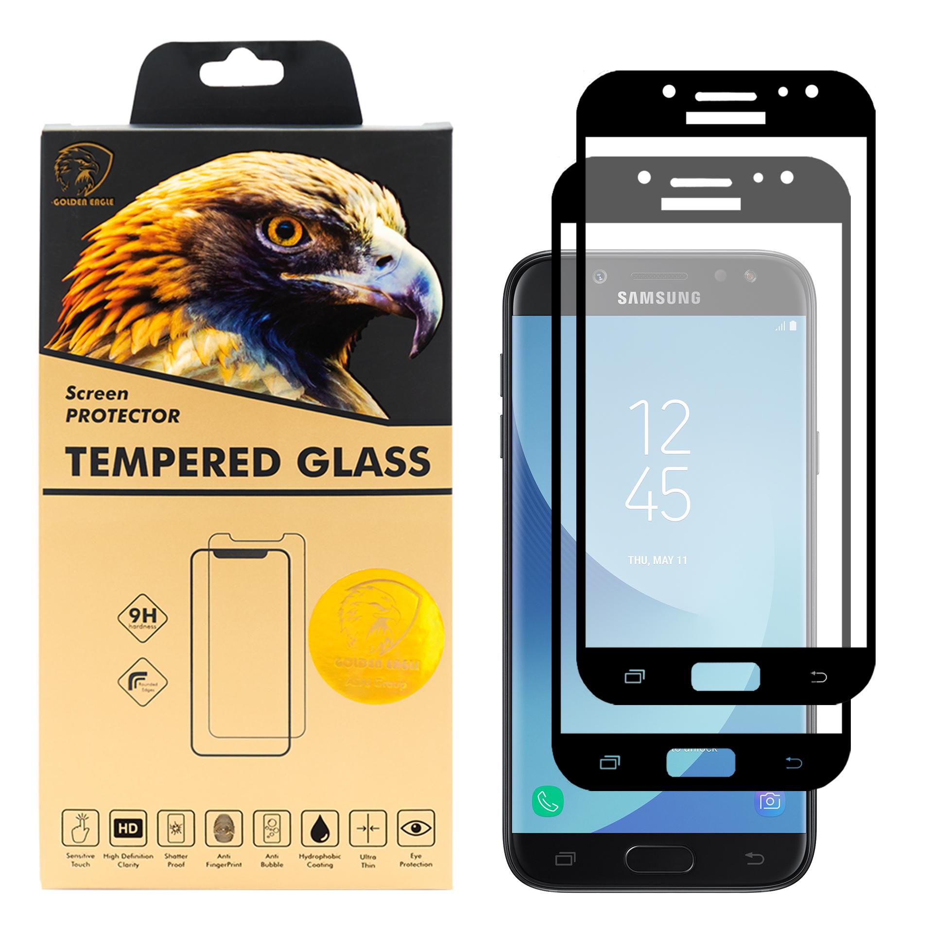 محافظ صفحه نمایش گلدن ایگل مدل DFC-X2 مناسب برای گوشی موبایل سامسونگ  Galaxy J5 Pro بسته دو عددی
