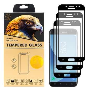 محافظ صفحه نمایش گلدن ایگل مدل DFC-X3 مناسب برای گوشی موبایل سامسونگ Galaxy J5 Pro بسته سه عددی