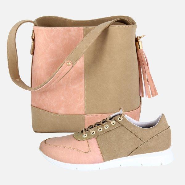 ست کیف و کفش زنانه کد 137