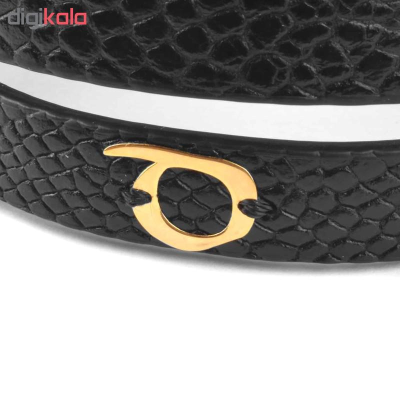 دستبند طلا 18 عیار زنانه درگون جولری مدل SLT22