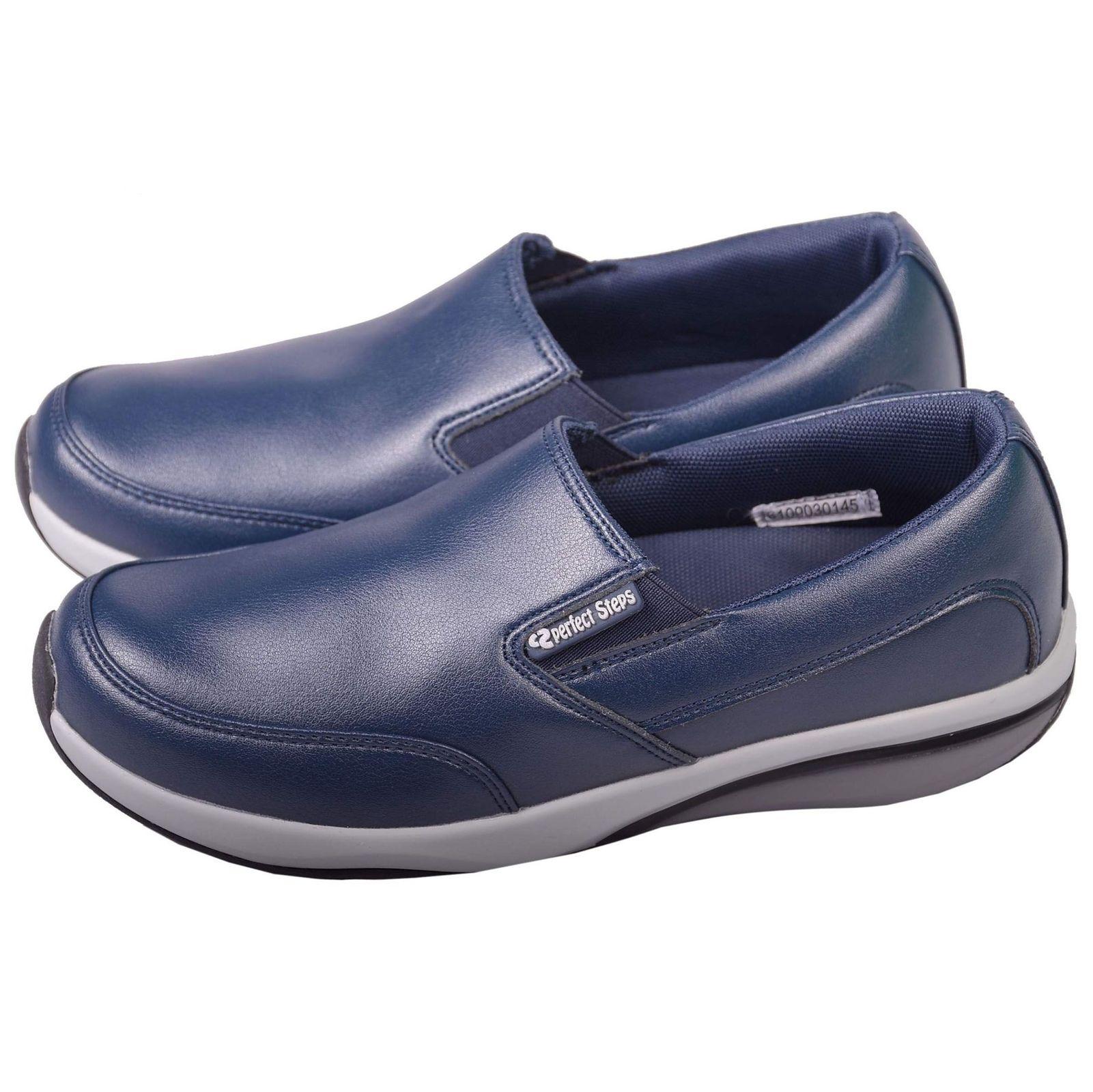 کفش مخصوص پیاده روی زنانه پرفکت استپس مدل پریمو کژوال رنگ سرمه ای main 1 2