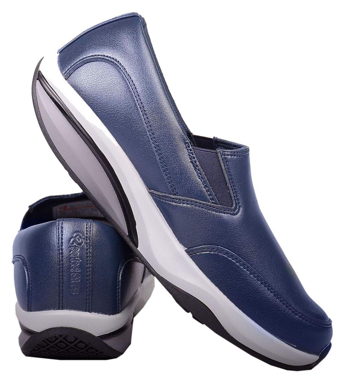 کفش مخصوص پیاده روی زنانه پرفکت استپس مدل پریمو کژوال رنگ سرمه ای main 1 3