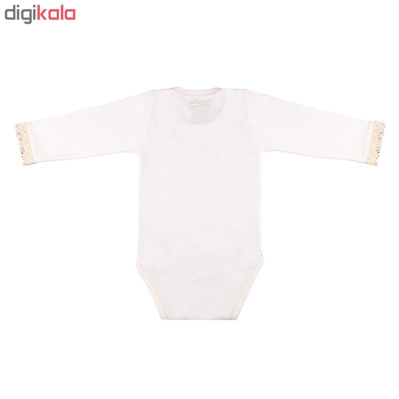 بادی نوزادی دخترانه طرح خرگوش کد 001