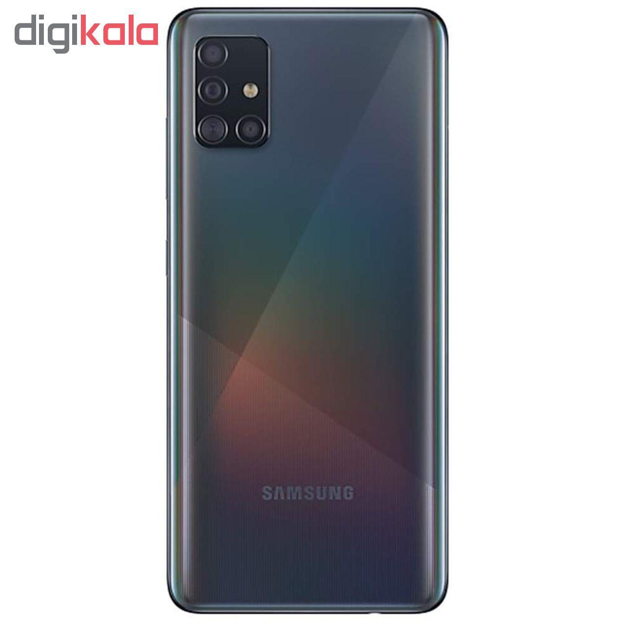 گوشی موبایل سامسونگ مدل Galaxy A51 SM-A515F/DSN دو سیم کارت ظرفیت 128گیگابایت main 1 2