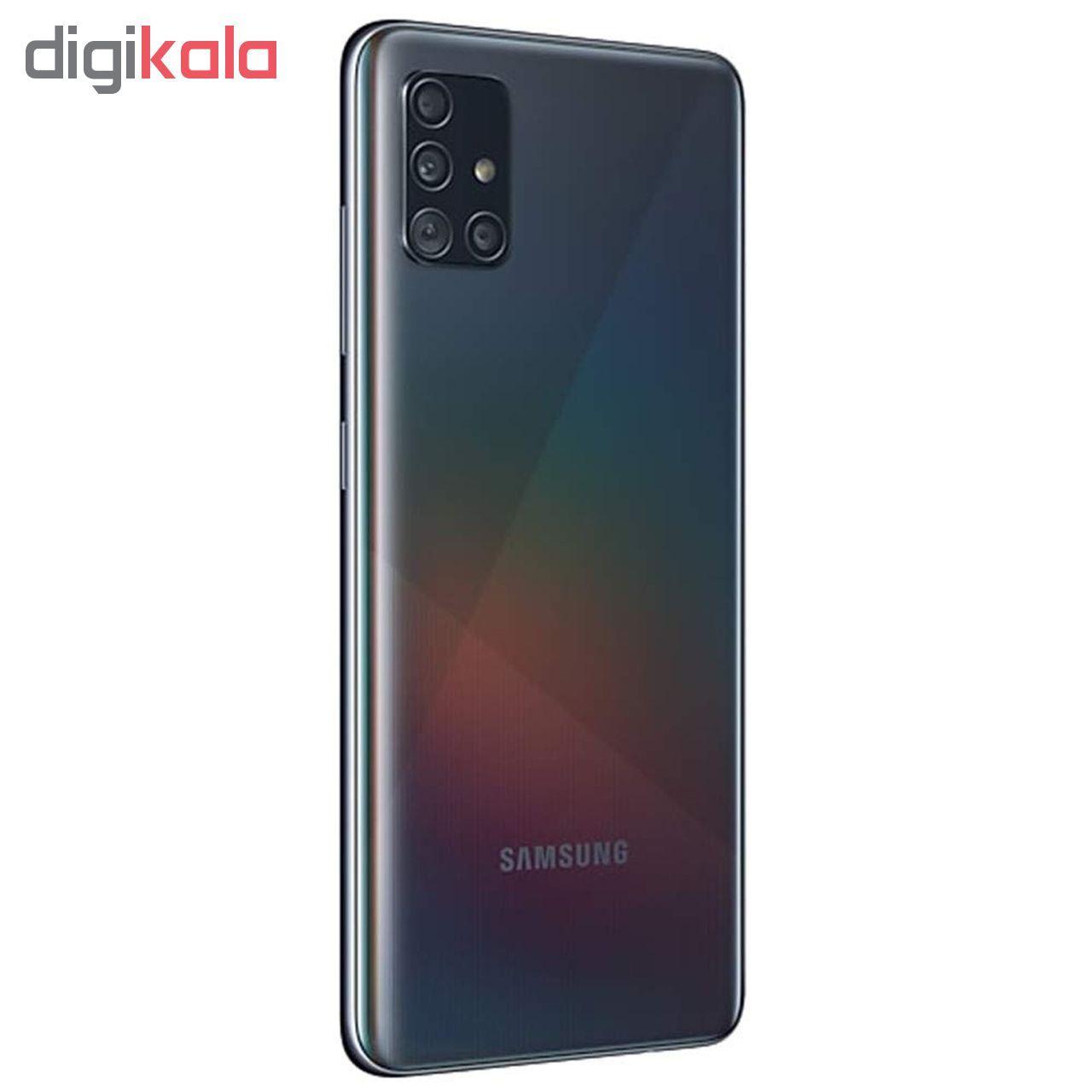 گوشی موبایل سامسونگ مدل Galaxy A51 SM-A515F/DSN دو سیم کارت ظرفیت 128گیگابایت main 1 3