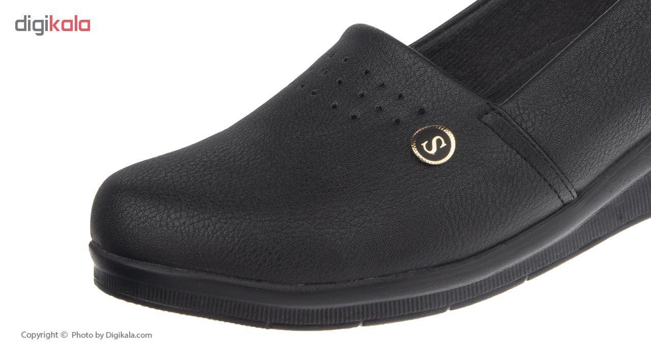 کفش زنانه سینا کد 11 رنگ مشکی main 1 2