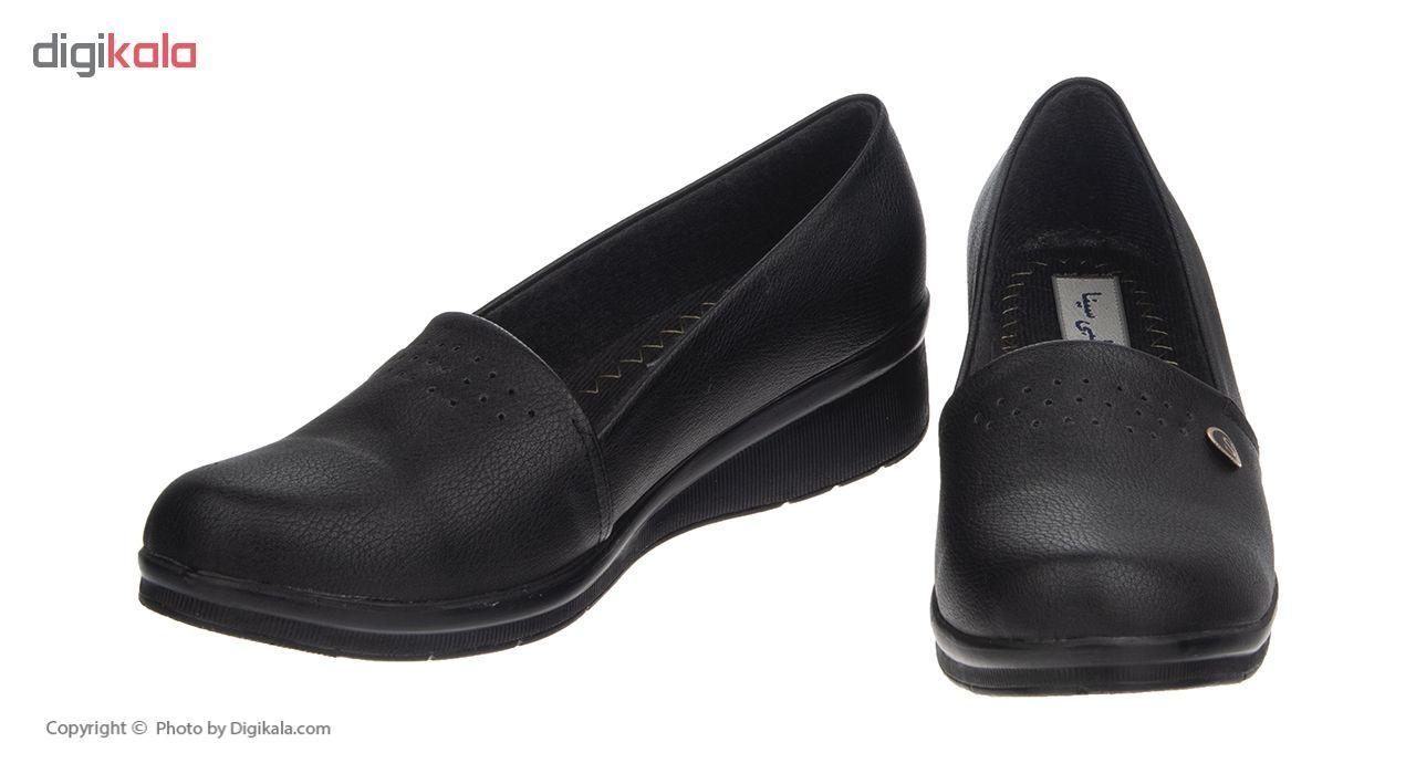 کفش زنانه سینا کد 11 رنگ مشکی main 1 3