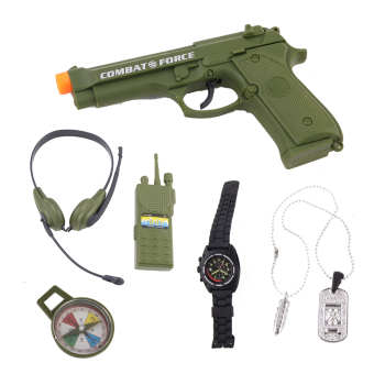 اسباب بازی جنگی مدل 34380 مجموعه  6 عددی
