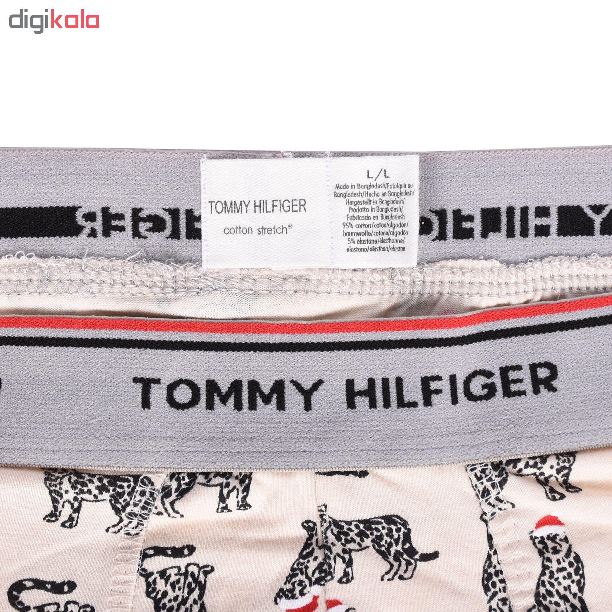 شورت مردانه تامی هیلفیگر مدل TOD4-97022 مجموعه ۳ عددی