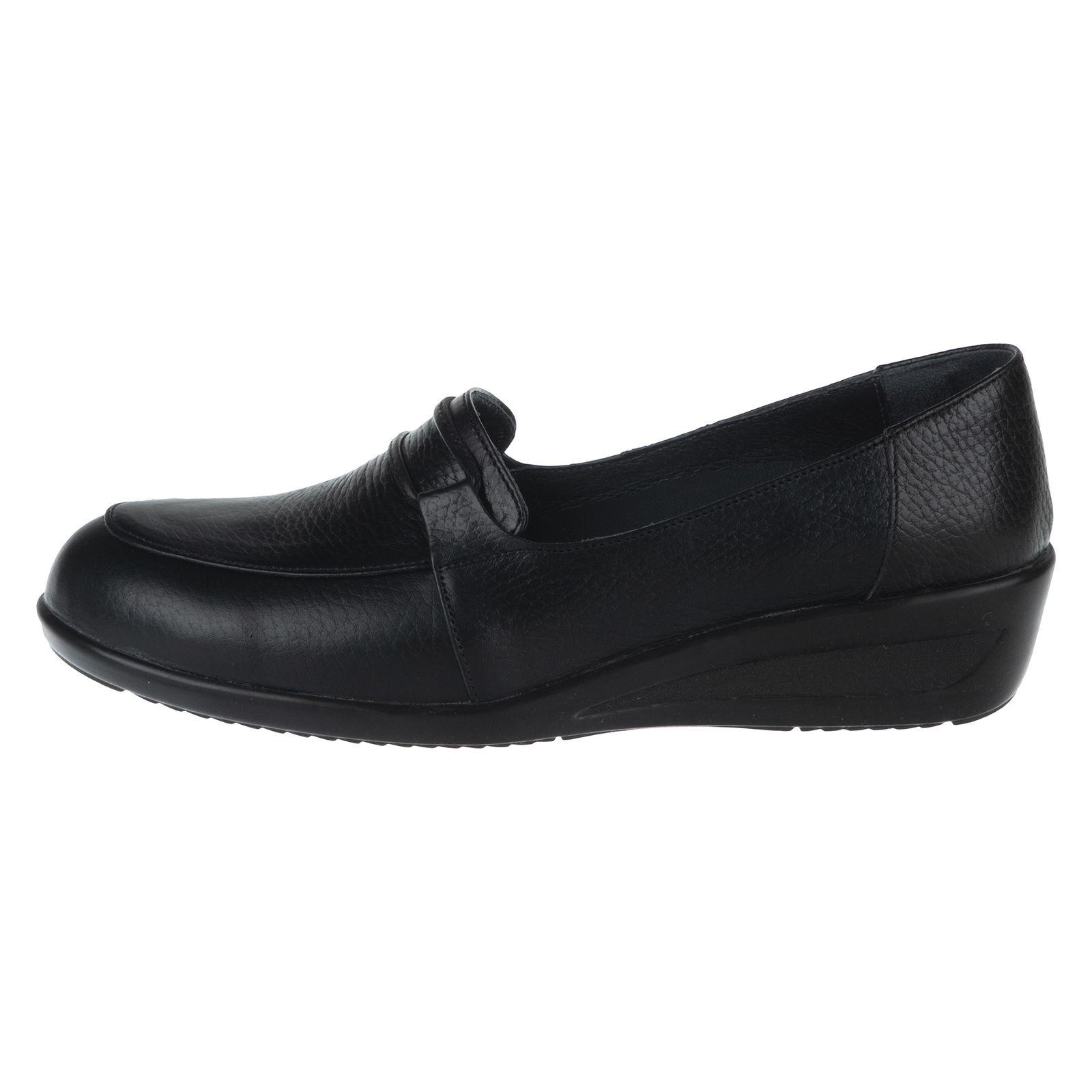 کفش روزمره زنانه شیفر مدل 5279A-101 - مشکی - 2