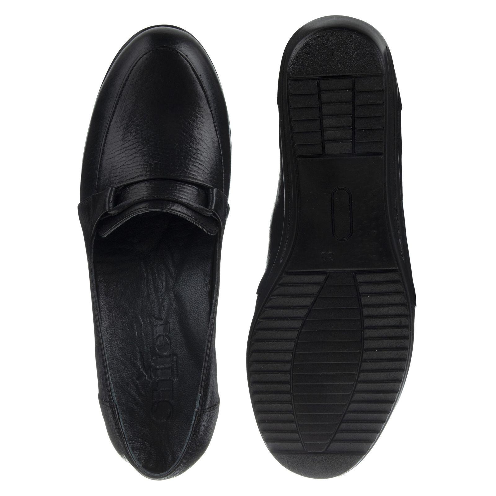 کفش روزمره زنانه شیفر مدل 5279A-101 - مشکی - 6