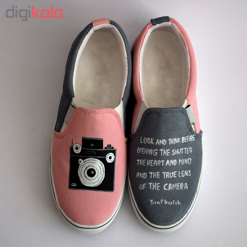 کفش روزمره زنانه طرح دوربین کد V-5