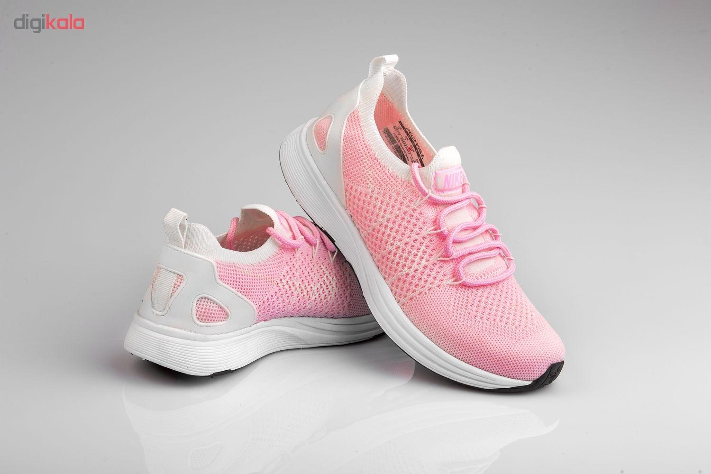 کفش مخصوص پیاده روی زنانه مدل رویال رنگ صورتی