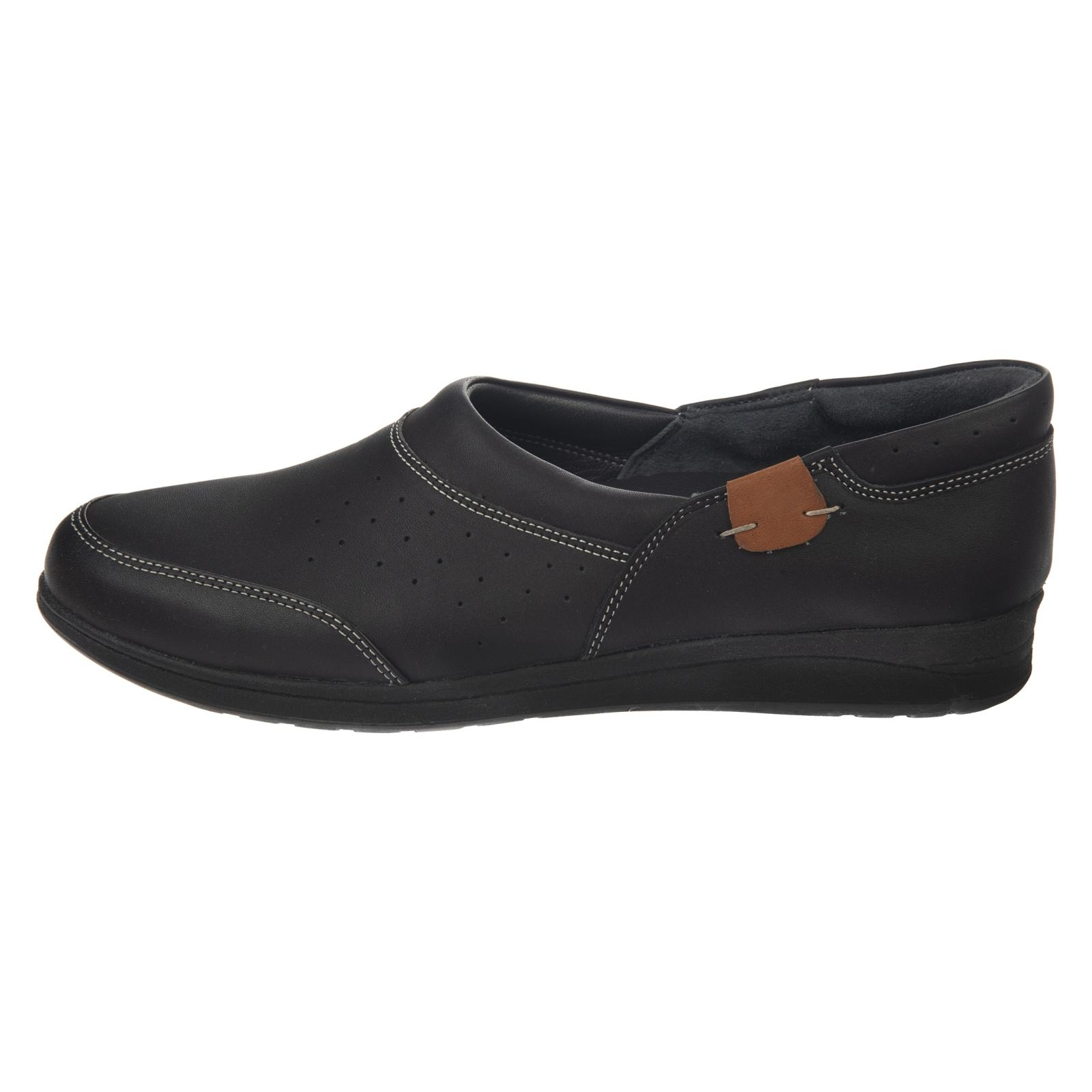کفش روزمره زنانه شیفر مدل 5181B-101 - مشکی - 2