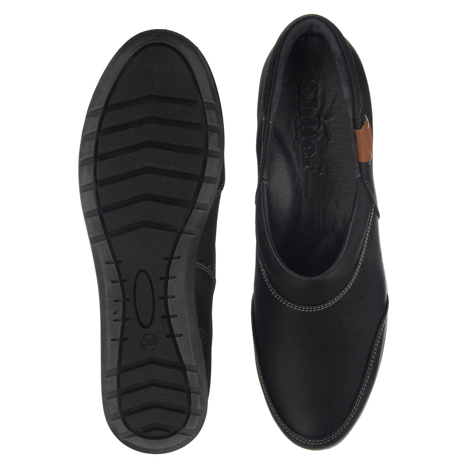 کفش روزمره زنانه شیفر مدل 5181B-101 - مشکی - 4
