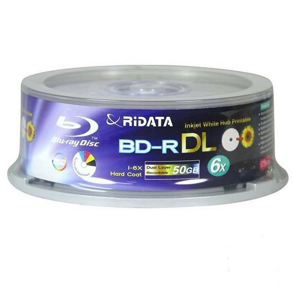 بلوری خام رایدیتا مدل BD_R باظرفیت 50 گیگابایت بسته 15 عددی