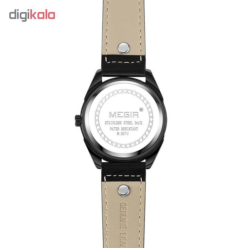 ساعت مچی عقربه ای مردانه مگیر مدل ML2072G-BK-7