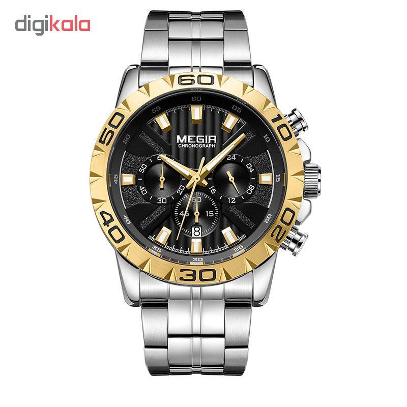 ساعت مچی عقربه ای مردانه مگیر مدل MS2087GS-GD-1N3