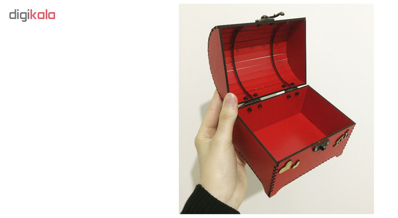 خرید                      جعبه هدیه چوبی مدل S6