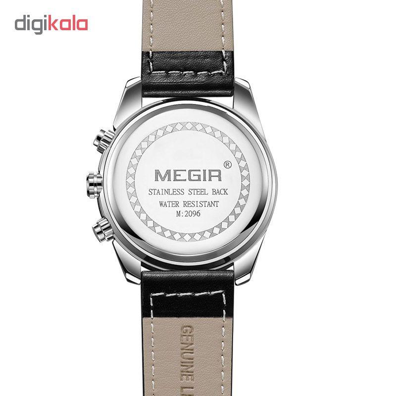 ساعت مچی عقربه ای مردانه مگیر مدل ML2096GS-BK-1