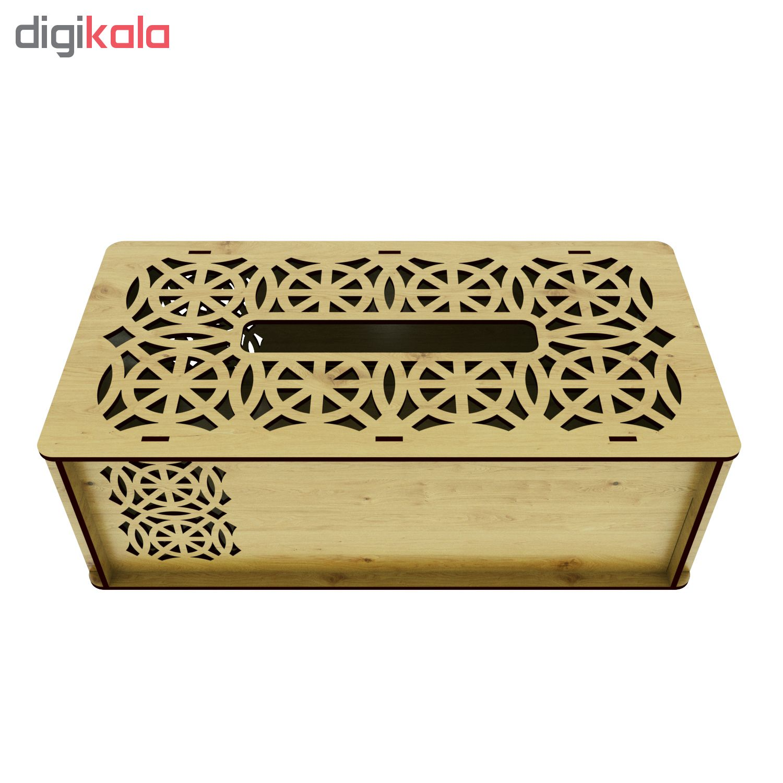 جعبه دستمال کاغذی کد I2002