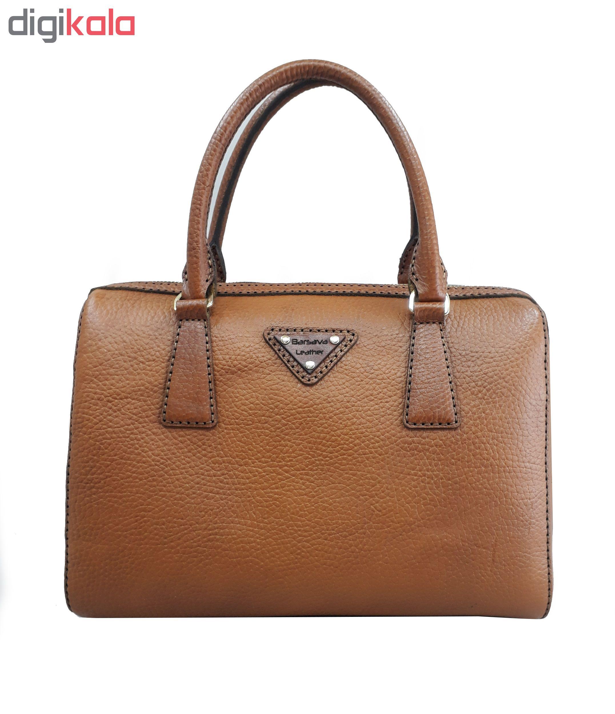 کیف دستی زنانه چرم بارثاوا کد 1374B