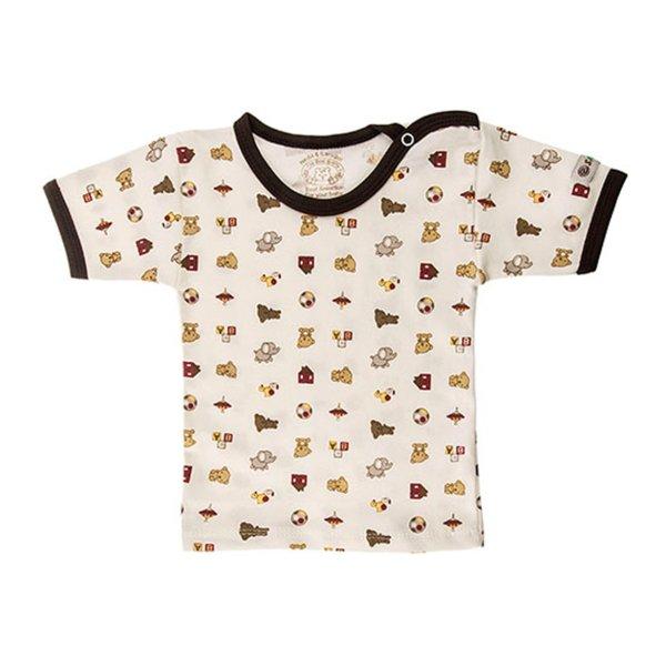 تی شرت آستین کوتاه نوزادی ندا و ساراگل مدل 1034