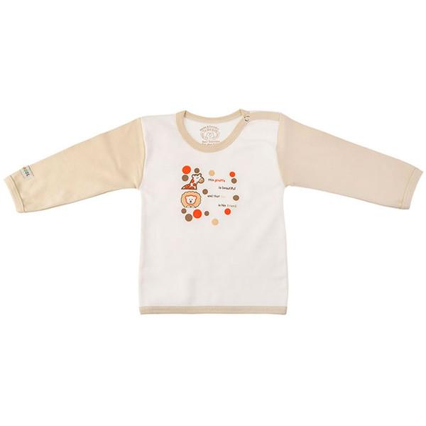 تی شرت آستین بلند نوزادی ندا و ساراگل مدل 3037