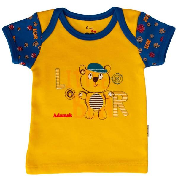 تی شرت آستین کوتاه نوزادی آدمک مدل Little Bear