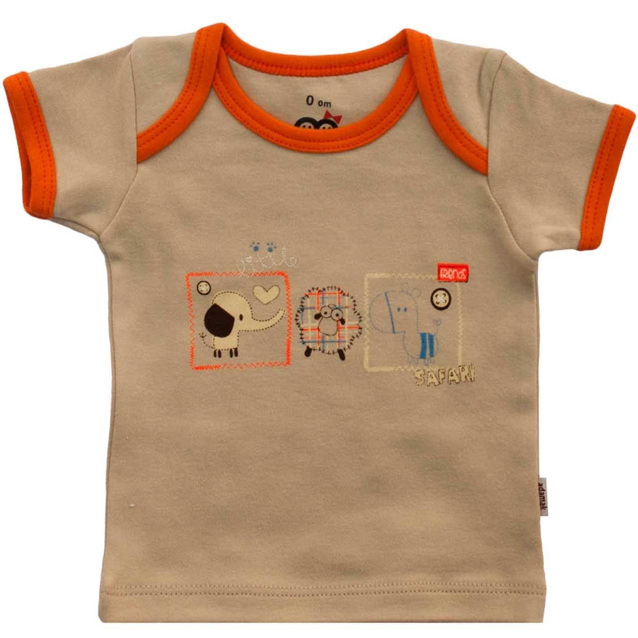تی شرت آستین کوتاه نوزادی آدمک مدل Friends