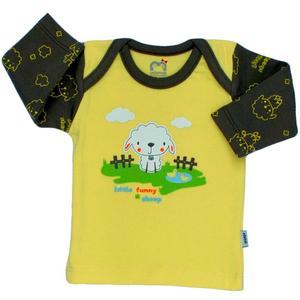 تی شرت آستین بلند نوزادی آدمک مدل Sheep